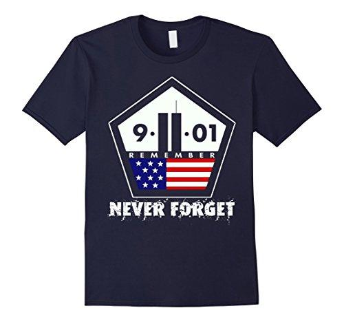 Men's Never forget 09.11.01 T-Shirt 3XL