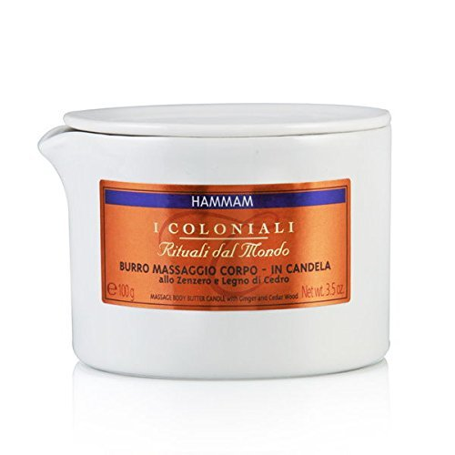 I Coloniali Massage Body Butter Candle, 3.5 Ounce by I Coloniali