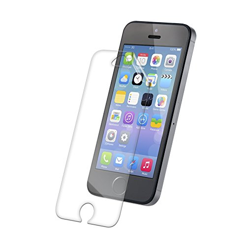 low priced 52d90 27279 ZAGG InvisibleShield HDX Screen Protector - HD Clarity + Extreme Shatter  Protection for Apple iPhone 5 / iPhone 5S / iPhone 5SE
