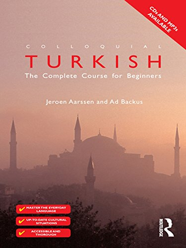 Colloquial Turkish (eBook And MP3 Pack): The Complete Course for Beginners (Colloquial Series) Pdf