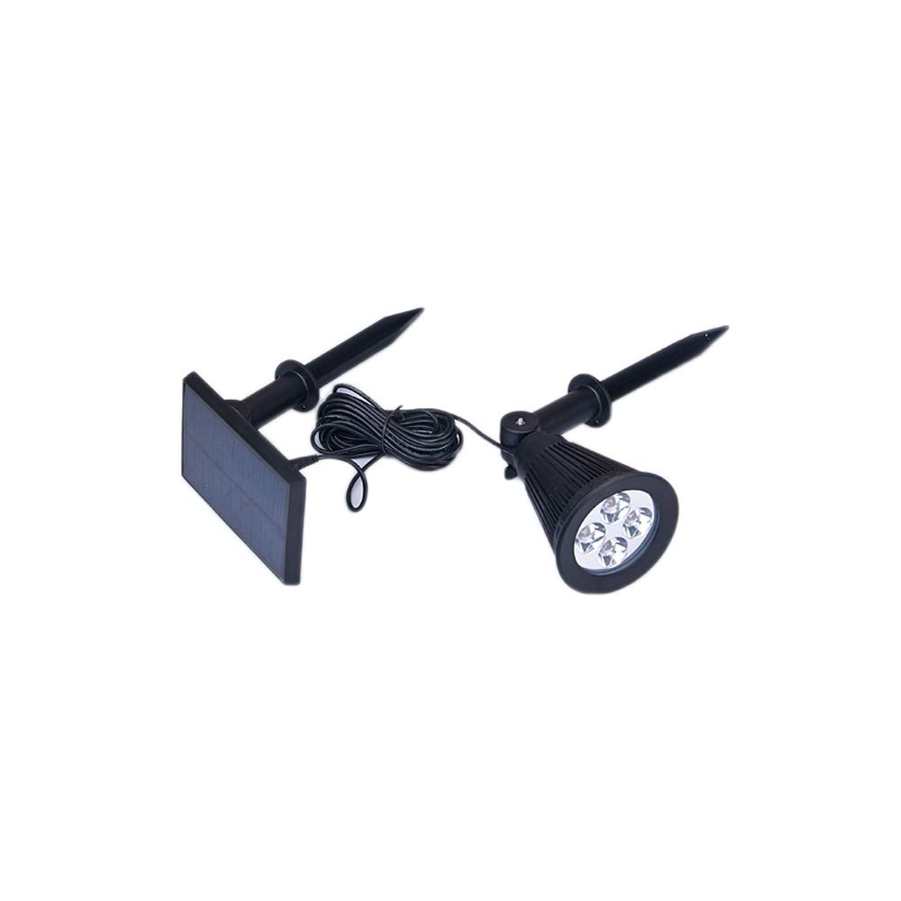 KMYX LED Solar Lawn Light Plug Outdoor Waterproof Wall Lamp Into The Ground Lamp Lawn Flood Light Projection Lamp Corner Street Light