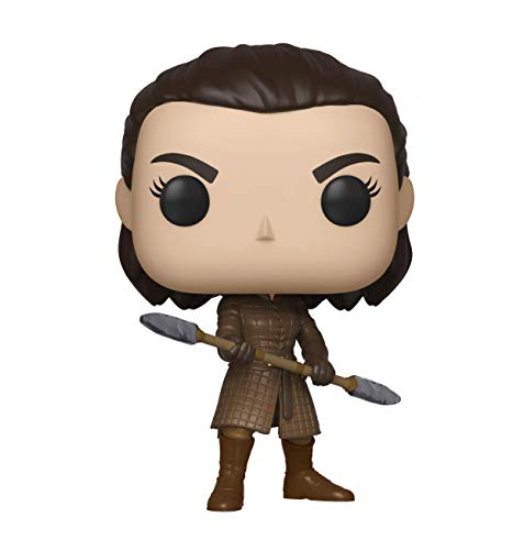 Funko Pop! TV Game of Thrones - Arya w/Two Headed Spear, Multicolor, Estandar