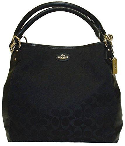 Coach Colette Signature Shoulder Handbag