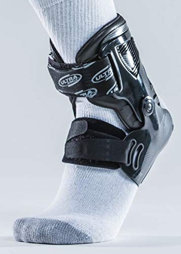Ultra Ankle Ultra Zoom Ankle Brace for Injury Prevention, Ankle Support and Helping to Prevent sprained Ankles. Performance and Protection Without Limits. (Small/Medium, Black) by Ultra Ankle (Image #1)