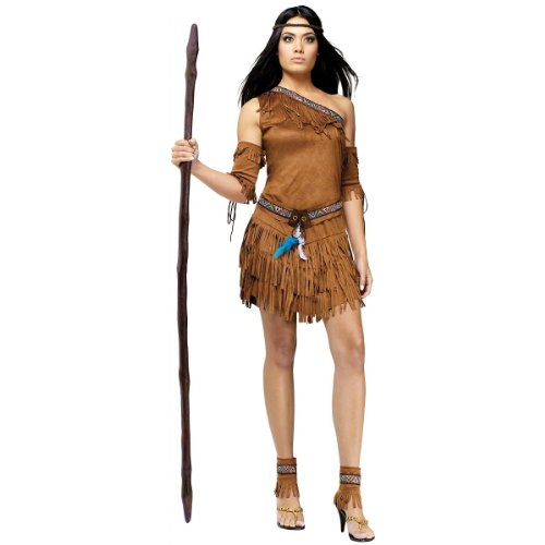 Pow Wow! Costume - Medium/Large - Dress Size 10-14 (John Smith Costumes)