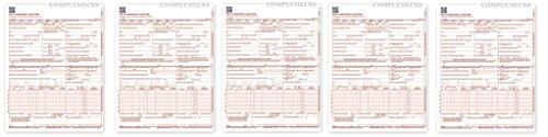 NEW CMS 1500 Claim Forms - HCFA (Version 02/12) ccZisN, 2500-Sheets
