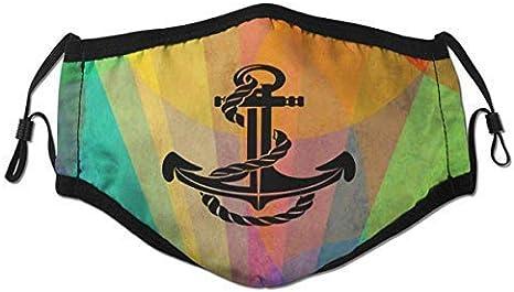 Ubers Mundschutz Love Venezuela Map Flag Mouth Cover Face Cover Dust-Proof Sunscreen Turban Headdress Mouth Scarf with Reusable Austauschbaren Filter