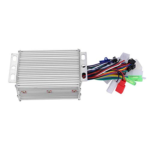 Alomejor 450W Motor Brushless Controller Brush Motor Driver Controls Module for Steady Speed, Sensitive Control of Braking Direction Changes, Perfect for Electric Bicycle Scooter E-Bike(36V/48V - 450 Motor Watt