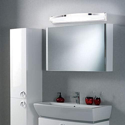 ELINKUME Wasserdicht Nebel LED Spiegelleuchte (8 watts 40LEDs 2835 SMD Schranklampe Badlampe Badleuchte Wandleuchte 880 lumens) Leuchte Wandlampe Spiegellampe AC 90-265V Beleuchtung (Kaltweiß)