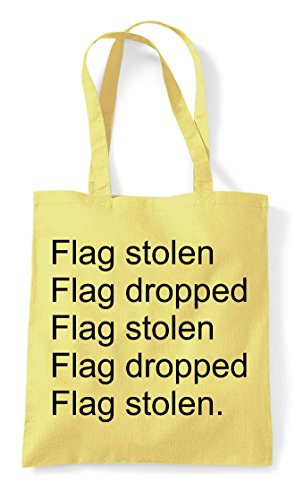 The Shopper Mode Repeat Dropped Pvp Stolen Statement Lemon Bag Capture Gaming Tote Online Multiplayer Flag c8q0OTFAww