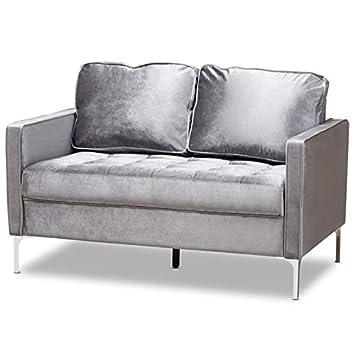 Strange Amazon Com Baxton Studio Clara Velvet Fabric Upholstered Evergreenethics Interior Chair Design Evergreenethicsorg