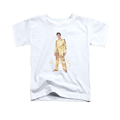 (Sons of Gotham Elvis Gold Lame Suit Toddler T-Shirt)