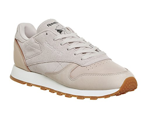 natural Sneaker Nude Reebok Donna Nude Neutral Classic pink Leather Golden qw8Px8RFT
