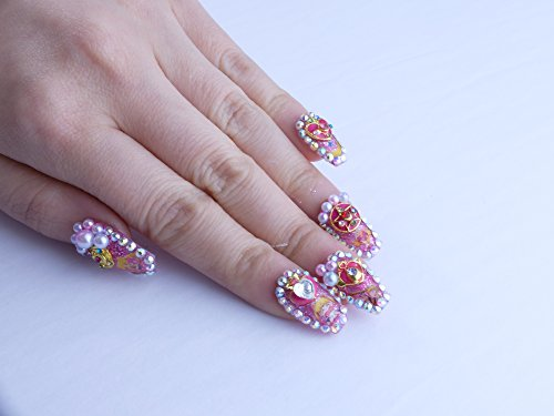 Sailor Scout Custom Press on Nails by Unicornails