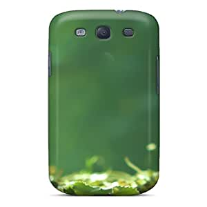 High Quality QQiFC4657BXEBK Leaves On The Ground Tpu Case For Galaxy S3