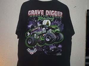 Amazon.com : VINTAGE 1999 GRAVE DIGGER MONSTER TRUCK Black