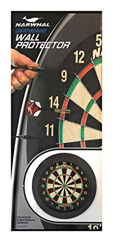 Narwhal Dartboard Wall Protector