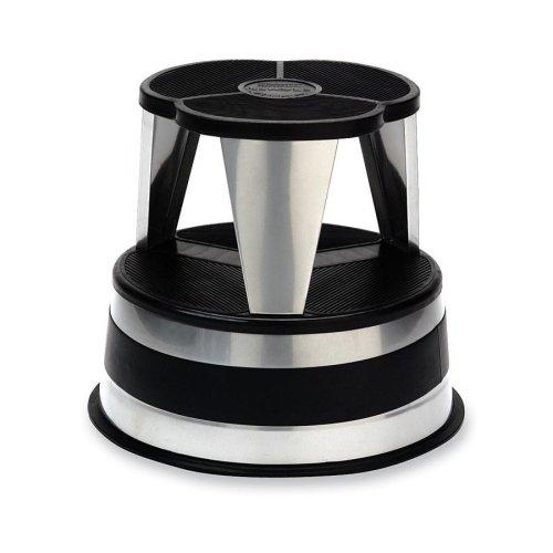 (Wholesale CASE of 5 - Cramer Original All-steel Kik-Step Stools-Kik Step Stool, 15-5/8