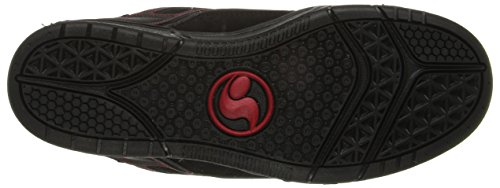 DVS APPAREL Comanche - Zapatillas de deporte de cuero para hombre Negro - Noir (964)