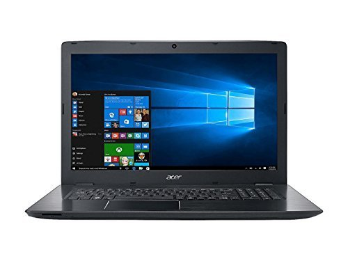 Acer Aspire E5 17.3 Full HD Flapship High Performance Laptop PC| Intel Core i5-7200U Dual-Core| NVIDIA GeForce 940MX (2GB GDDR5)| 12GB DDR4| 256GB SSD| Bluetooth 4.1| Windows 10 (Black)