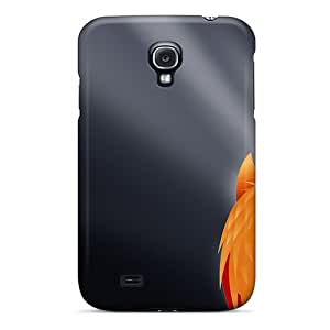 Hot Tpu Cover Case For Galaxy/ S4 Case Cover Skin - Firefox Vista Widescreen
