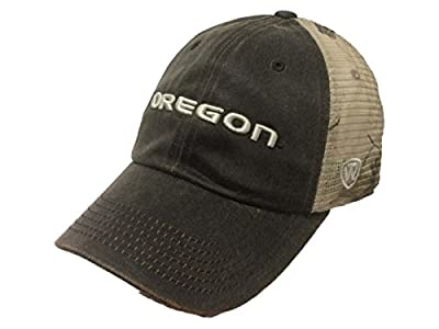 Oregon Ducks TOW Brown Realtree Camo Mesh Adjustable Snapback Hat Cap from Top of the World