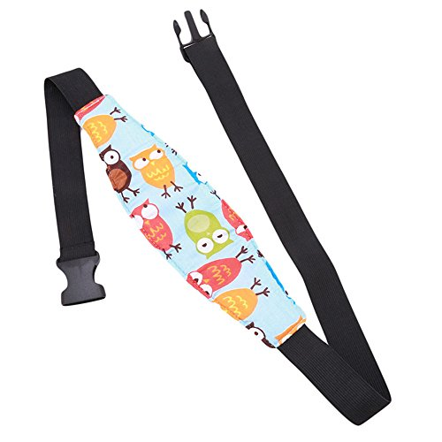 Baby Kids Car Seat Neck Relief Head Support Band With