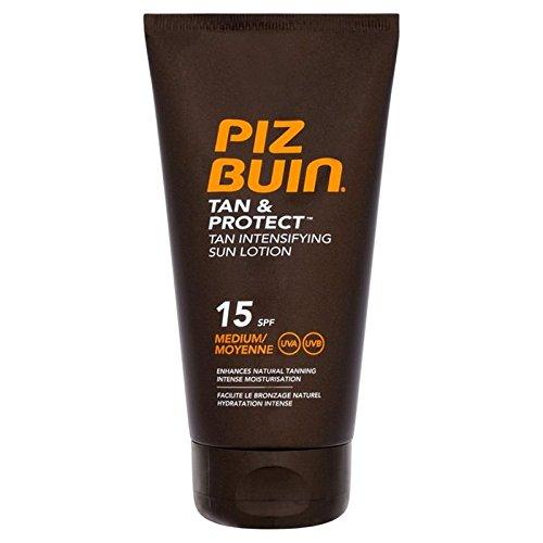 Piz Buin Tan & Protect Tan Intensifying Lotion SPF 15 150ml (Pack of 6) - ピッツブーインの日焼け&守る日焼け激化ローション 15 150ミリリットル x6 [並行輸入品] B071NHCXCY