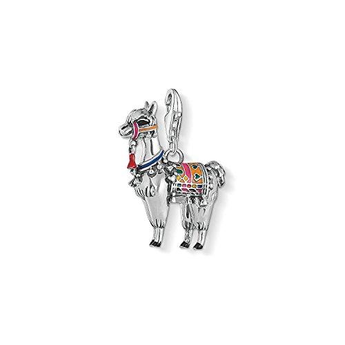 Thomas Sabo Charm Club Thomas Sabo Silver Llama Multicoloured Charm Pendant 1694-664-7