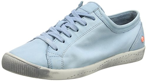 Trainers Pastel Isla Blue Washed Softinos Women's CwIxq6qt