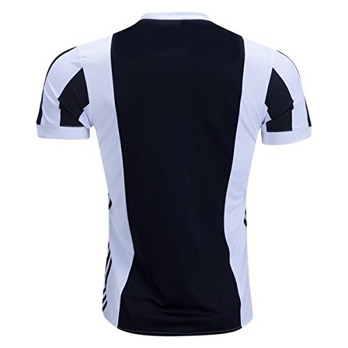 Men's Soccer Jersey Color BLACK/WHITE Size S (Juventus Home Jersey)