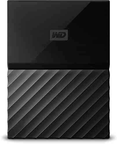 WD 4TB Black My Passport Portable External Hard Drive - USB 3.0 - WDBYFT0040BBK-WESN