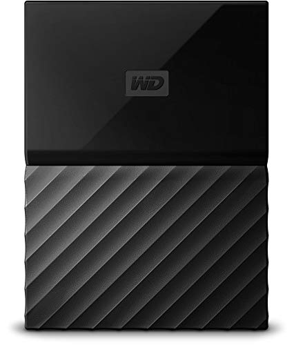 WD 2TB Black My Passport Portable External Hard Drive - USB 3.0 - WDBS4B0020BBK-WESN (2tb External Hard Drive Without Power Supply)