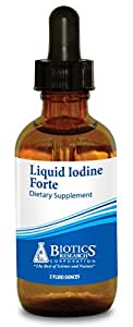 Biotics Research, Liquid Iodine Forte 2 fl oz