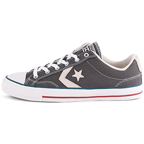Ox Canvas Player White Core Unisex Adulte Star Converse grey Sneaker qxI5wUX6Tp