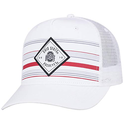 (Top of the World Ohio State Buckeyes Official NCAA Adjustable 36th Ave Hat Cap Curved Bill Mesh 390970)