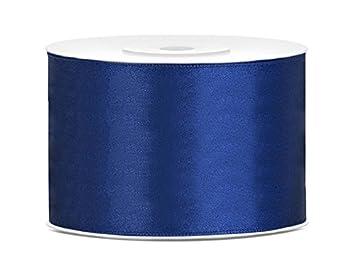 SiDeSo ruban de satin ® ivoire 25 m x 38 mm pour décoration de gâteau de mariage SiDeSo®