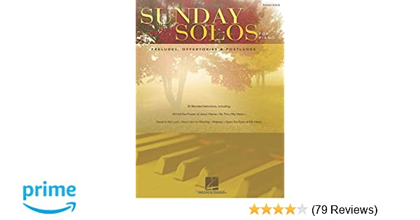Sunday Solos for Piano: Preludes, Offertories & Postludes: Hal