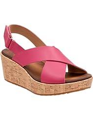 CLARKS Womens Stasha Hale4 Wedge Sandal