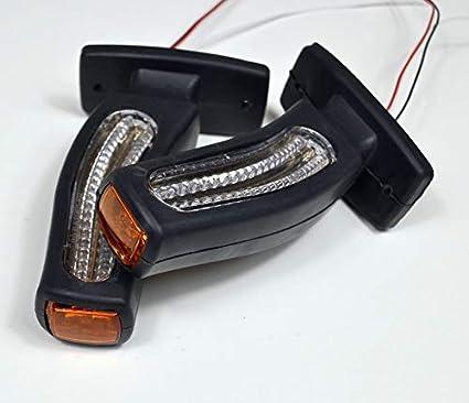 flexzone Stalk LED 3/luci di Posizione Funzione ripetitore Side Marker 12/V 24/V Camion rimorchio