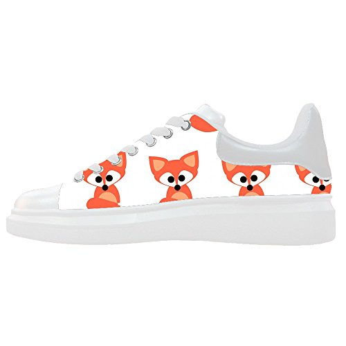 Dalliy Custom Fox Womens Canvas Shoes Le Scarpe Le Scarpe Le Scarpe.