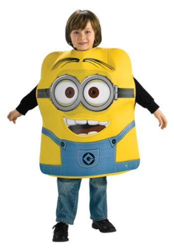[Despicable Me 2 Minion Dave Costume, Medium] (Costume Minions)