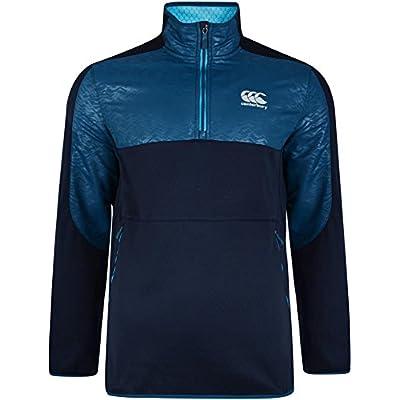 Canterbury 2017 Thermoreg Spacer Fleece 1/4 Zip Sweater Top Mens Run Pullover