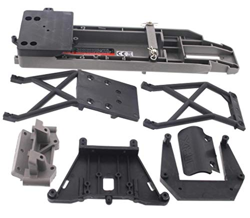 - Traxxas Stampede 2wd XL-5 VXL * CHASSIS SHOCK TOWERS BULKHEAD BUMPER SKID PLATE