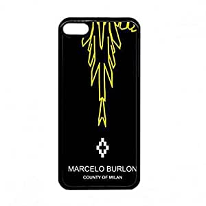 Marcelo Burlon Phone Funda Cover For Ipod Touch 6 Luxury Brand Logo Phone Funda
