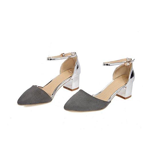 EU Sandali con Gray Zeppa 35 Grigio EYR00078 Donna Aimint 6Pw578q5