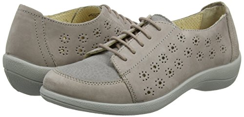 74 Scarpe Ramone EU Stringate Derby Padders 39 Donna Taupe Lt SRaqwnd