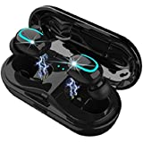 Wireless Earbuds, The Best V5.0, Bluetooth Earbuds, Wireless Headphone, HBQ Brand V5.0, Water Proof Earphone, with TWS Technology and Charging case. Great for fitness activity.