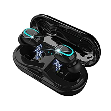 Best Wireless Earbuds for Jogging, Aerobic Gym Activity, Best 5.0 Bluetooth Earbuds, Wireless Headphone, HBQ Brand V5.0, Sweat Proof Earphone, with TWS Technology and Charging case. Great Purchase