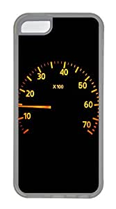 iPhone 5C Cases & Covers - Calm Racer Speedometer Custom TPU Soft Case Cover Protector for iPhone 5C - Transparent